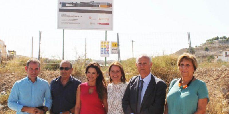 Vinalopó Salud inicia las obras del CSI de Aspe tras la firma del acta de replanteo.