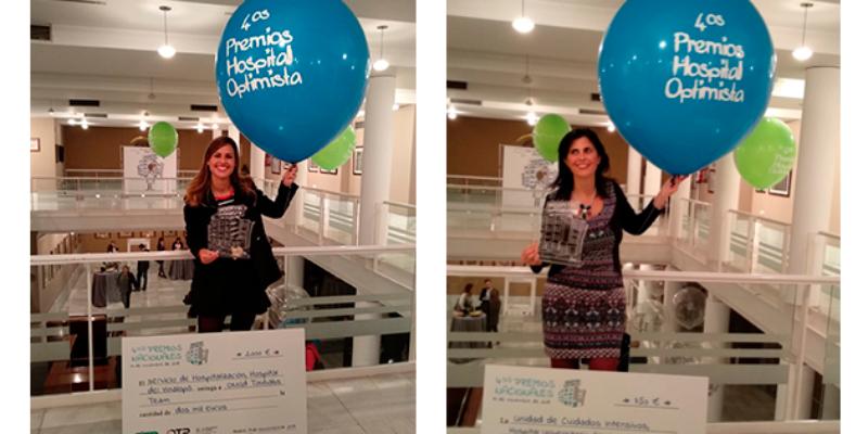 Los hospitales de Torrevieja y Vinalopó, galardonados en los premios Hospital Optimista.