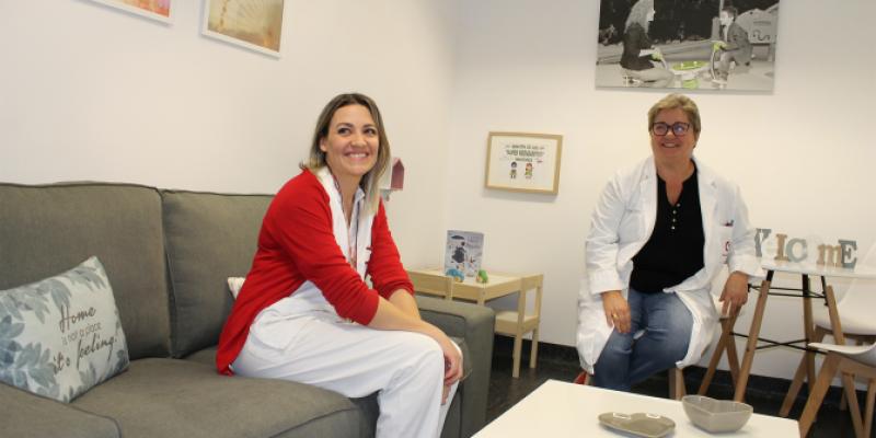 El Hospital Universitario del Vinalopó habilita una sala para familias de niños hospitalizados.