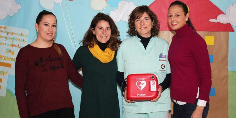 Vinalopó Salud dona un desfibrilador al Colegio Público de Educación Especial Virgen de La Luz