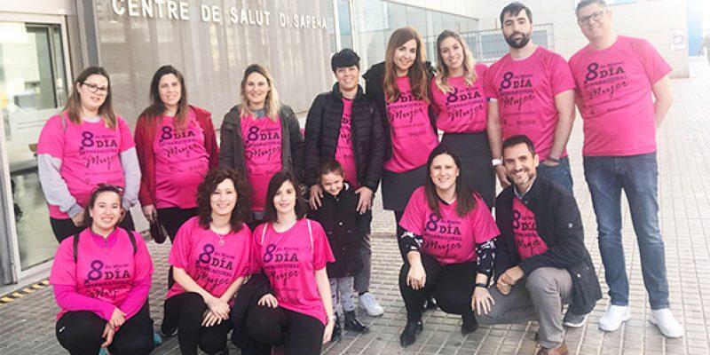 Vinalopó Salud celebra el Día de la Mujer con un paseo saludable para mamás y embarazadas