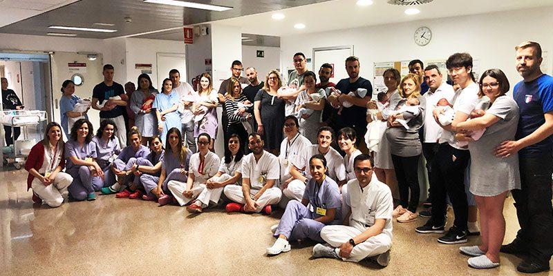 El Hospital Universitario del Vinalopó bate su récord de nacimientos con 20 partos en 48 horas