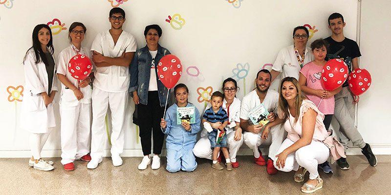 El Hospital Universitario del Vinalopó celebra el Día del Niño Hospitalizado