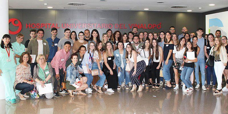 El Hospital Universitario del Vinalopó da la bienvenida a más de 60 profesionales de enfermería