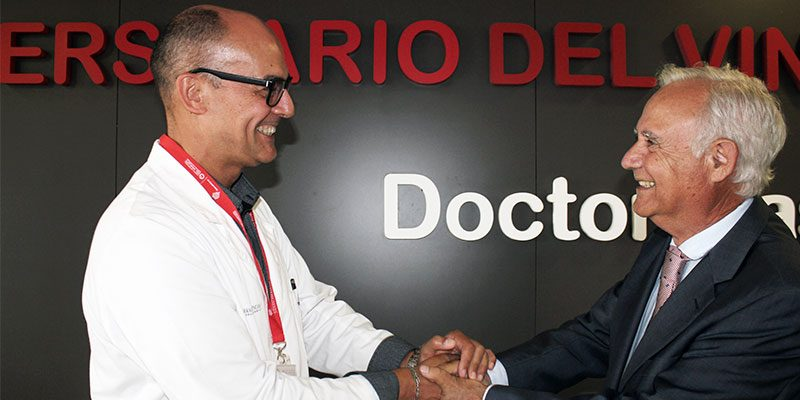 El doctor Rafael Carrasco, nuevo director gerente del Hospital Universitario del Vinalopó
