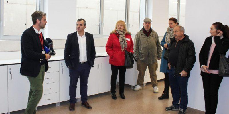 Vinalopó Salud organiza la II jornada de puertas abiertas para conocer las instalaciones del nuevo centro de salud integrado de Aspe