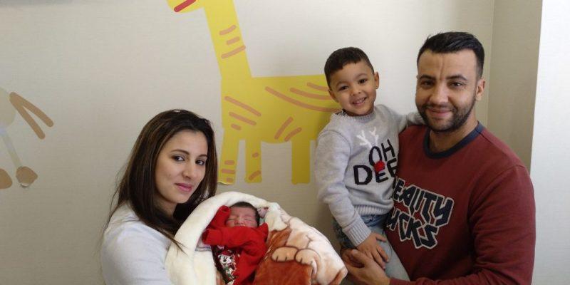 El Hospital Universitario del Vinalopó recibe al primer bebé del año