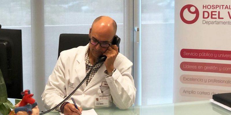 El Hospital Universitario del Vinalopó inicia las reuniones virtuales con alcaldes sobre la evolución del coronavirus
