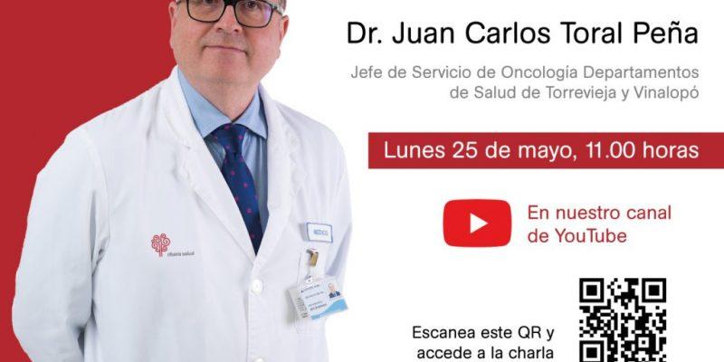 """Juan Carlos Toral: """"Los pacientes oncológicos pueden presentar más complicaciones con una infección activa por COVID-19"""""""