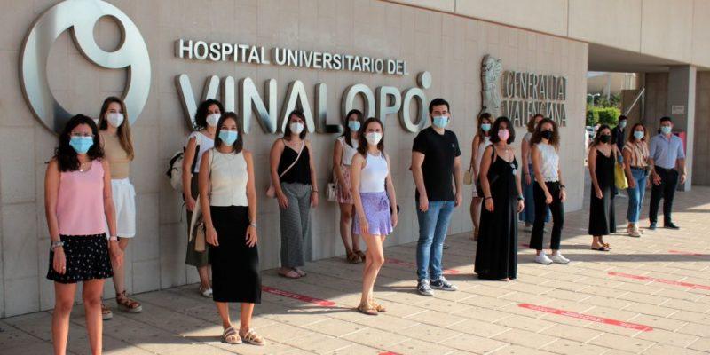 El Hospital Universitario del Vinalopó da la bienvenida a la segunda promoción de residentes que comienzan su formación en el departamento de salud