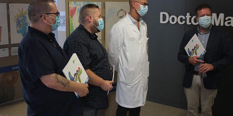 """El Hospital Universitario del Vinalopó acoge """"Expression of Hope"""", una exposición con obras de afectados por enfermedades raras"""