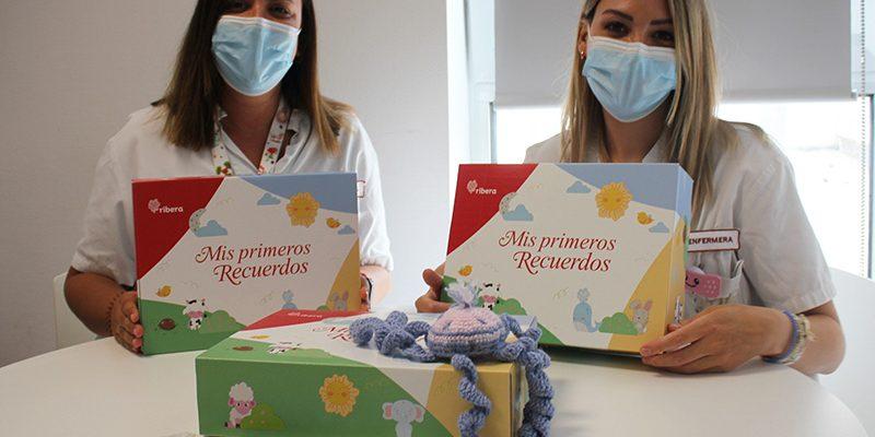 """""""Mis primeros recuerdos"""", la bonita iniciativa de Ribera que permite a los bebés adoptados conservar los recuerdos de su nacimiento en el hospital"""